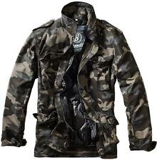 Brandit m-65 fieldjacket Classic campo chaqueta darkcamo 2 en 1 Parka CAMUFLAJE