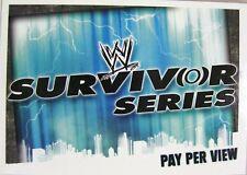 Slam ATTAX EVOLUTION #186 Survivor Series