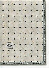 Faux Marble Tile Floor Sheet  34735 dollhouse 1pc World & Model card stock