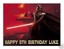 Star Wars Darth Vader edible cake image cake topper