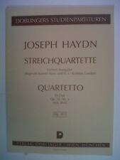 Mini Pocket puntuaciones Haydn Streichquartette D Dur op 33-6