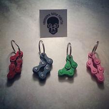 Bike Chain Keyring! Biker Cute Handmade Gift Present XT MTB Road Fidget cycle