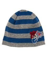 NWT Gymboree Stripe London Rocker Patch Guitar Flag Sweater Beanie Hat Boy 5 7 8