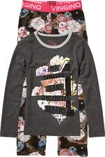 Vingino Schlafanzug/Pyjama WEEMA-Set dark grey NEU reduziert verschiedene Größen