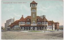 Portland ME Maine Grand Trunk Depot Mason Bros Postcard
