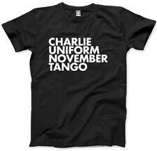 Charlie Uniform November Tango  Mens Unisex T-Shirt