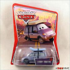 Disney Pixar Cars Leroy Traffik van World of WoC #28 - worn packaging