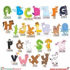 3D ABC Alfabeti Numeri educativo Adesivi Murali camere da letto bambini Bambino Decalcomania