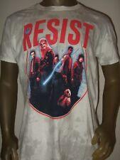 Men's S-2X Star Wars Rogue One Resist Team Rebel Alliance Chewbacca Disney Shirt