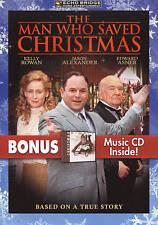 The Man Who Saved Christmas with Bonus MP3 Tracks