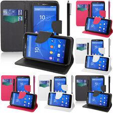 Custodia Protettiva per Sony Xperia E4 E2104 Dual Cellulare Custodia portafoglio