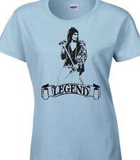 Rod Stewart T-Shirt homenaje los rostros era 100% no oficial diseño único señoras