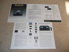 McIntosh MA 6850 / 6800 Amp Brochure, 5 pg, Specs, Info