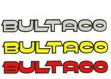 Bultaco tank decal stickers trials motocross pre 65 vinduro sherpa pursang
