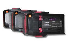 3x Akku Werkzeug Batterie [4000mAh 36V] fuer HILTI Bohrhammer TE6A , TE7A