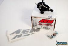 AEM Adjustable Fuel Pressure Regulator FPR Civic Accord Prelude Integra 25-300BK