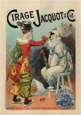 Vintage Advertisment Poster Cirage Jacquot & Cie WIA058 Print A4 A3 A2 A1