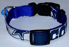 Dallas Cowboys COLLAR Dog Small Pet Pro Football Team Fan Game Gear NFL Shop S