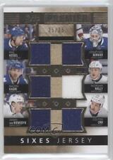 2014-15 Upper Deck Premier Sixes Jerseys #PQ6-TOR Toronto Maple Leafs Colton Orr