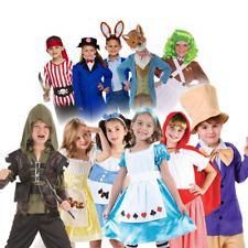 Girls Boys Children' Book Day Story Character Fancy Dress Fairytale Kids Costume