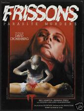 Shivers David Gronenberg vintage horror movie poster
