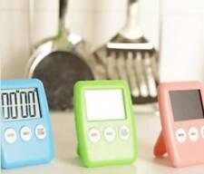 Reloj Temporizador Cocina Cuenta Atrás 100min Imán Colgador y Vertical con Apoyo