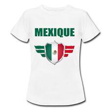 T-shirt Enfant Mexique avec prénom au dos personnalisé - Mondial Football 2018