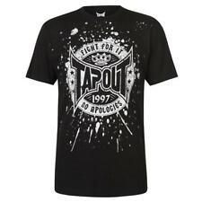 TAPOUT Core Mens T Shirt FIGHT FOR IT Gym Training 100% COTTON Size S - XL R643