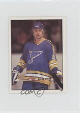1982-83 Topps Album Stickers #197 Bernie Federko St. Louis Blues Hockey Card