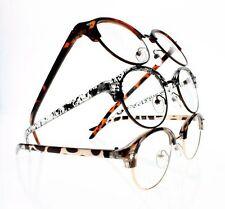 New Unisex Retro Round Frame Clear Lens Reading Glasses +1.0 +2.0 +3.0 +4.0