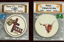 COASTER Texas GOD Country Longhorn Religious Cross Western Cowboy Hat Bull Home
