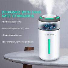 Air Aroma Diffuser LED Ultrasonic Oil Humidifier Essential USB Mist Purifier EN