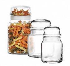 Latas De Reserva recipientes cristal Almacenamiento TARRO del almacenaje Envase