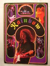 RAINBOW 1978 JAPAN TOUR BOOK / 40 PAGE BOOKLET deep pur