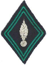 Losange mle 1945 :  Chasseurs Métropolitains (ABC)  modèle Officier - cannetille