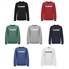 Hummel Damen Pullover Go Cotton Logo Sweatshirt Woman 203519