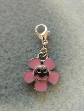Anhänger CHARMS °  LACHENDE BLUME  ° für Bettelarmband Kette Beads Charm