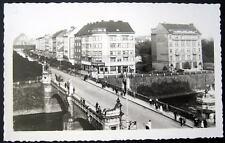 Czech Republic~1920's PLZEN ~ Bridge ~ Banka ~ RPPC