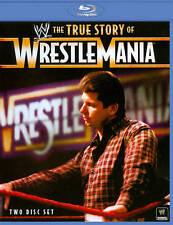 WWE: The True Story of WrestleMania [Blu-ray], Good DVD, Vince McMahon, Shawn Mi