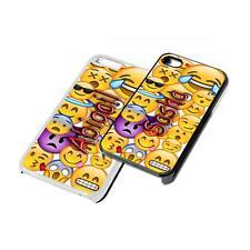 Custom Emoji Art Phone Case Cover for iPhone Samsung ipad ipod 5th 6th gen sony