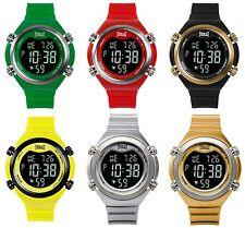 Everlast unisex LCD CUARZO SERIE 33-503 alarma cronómetro y mucho más 5atm