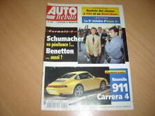 Auto hebdo N°948 Porsche 911 Carrera 4