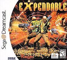 Expendable (Sega Dreamcast, 1999) -Complete