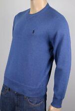 Polo Ralph Lauren Blue Crewneck Sweater Navy Blue Pony NWT