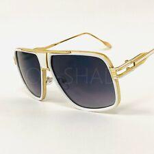 cbef97a28 Oversized Mach Aviator Men Gold Metal Frame Retro Square Designer Sunglasses  New