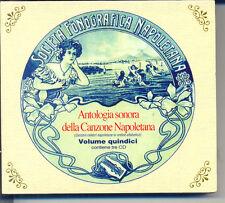 ANTOLOGIA SONORA DELLA CANZONE NAPOLETANA VOLUME QUINDICI BOX 3CD