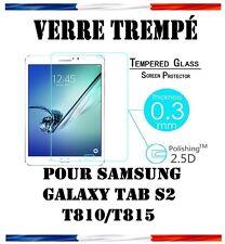 Vitre Protection Film écran VERRE TREMPE 9H Samsung Galaxy Tab S2 T810/T815