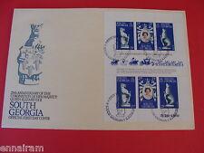 Queen Elizabeth II Silver Jubilee Coronation FDC Stamp South Georgia 1978 #2