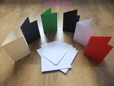 Pack of 50 Christmas A6 Card Blanks - White Envelopes