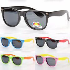 Bambini Classico Quadrato Occhiali Da Sole Polarizzati UV400 Protezione